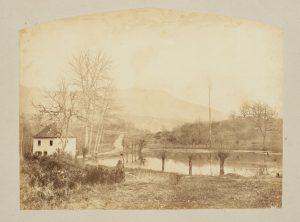 F.T. à Chantabeau près de Creys (Isère), s.d. vers 1880. Épreuve sur papier albuminé, 16,8x22cm, Coll. part.