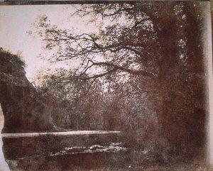 FAR, Gorges de la Fusa, positif sur papier salé Whatman 1838, col. CBT