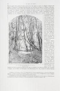 F.T., dessin de Ravier, Poncins, s.d. vers 1880, in Félix Thiollier,  Le Forez pittoresque et monumental. Lyon. impr. Waltener. 1889. 2 vol. 48 cm.