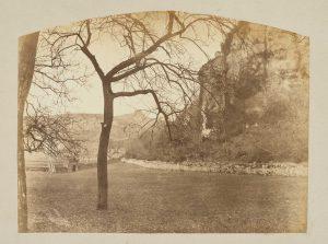 F.T., Morestel vu du pré de Ravier, s.d. vers 1874-1888.    Épreuve sur  papier albuminé,  20x26 cm. Coll. part.
