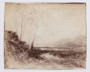 F.T., photo dessin de Ravier, s.d. vers 1887. Epreuve sur papier albuminé,  8x11cm. Coll. part.