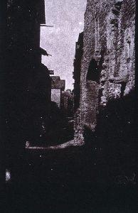FAR. Rue de Crémieu, négatif 19,5x13cm, col. part