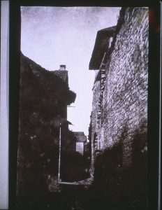 FAR, Crémieu, négatif papier salé, 27x17cm