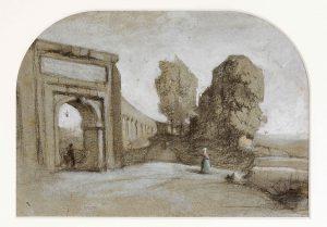 F.A. Ravier vue de Rome