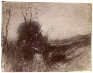 FT. 1 photog d'aquarelle FAR, dans atelier de Morestel 1896