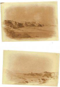 FT. 2 photos d'aquarelles, atelier de Morestel 1896