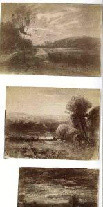 FT. 3 photos d'aquarelles FAR, atelier de Morestel 1896
