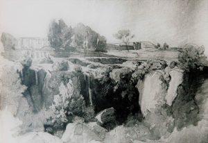 Ravier, Aqueduc de Claude, Rome, 1847