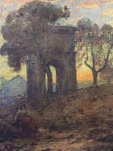 Ravier à Rome, Arc de Titus; coll part