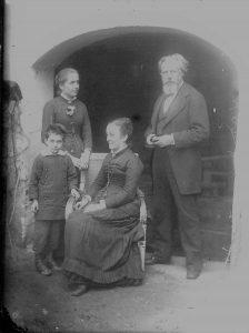 Famille Ravier à Verrières